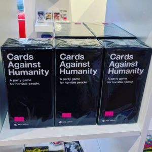 Cards Against Humanity International Edition offiziell erhältlich in der METAWARE Wien, Reindorfgasse 39!