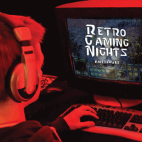 Retro Gaming Nights Flyer